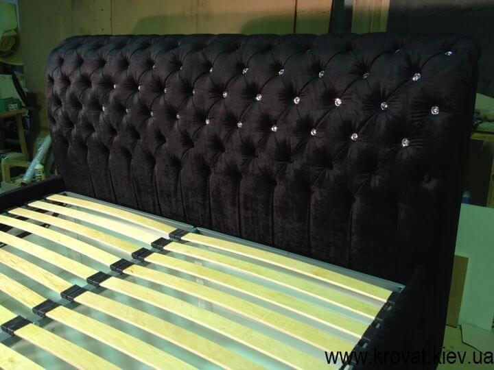 ліжко зі стразами Swarovski на замовлення