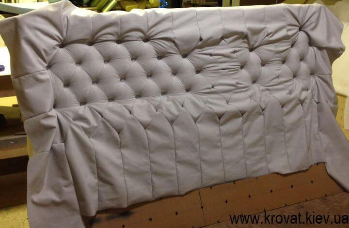 изготовление кроватей с каретной стяжкой