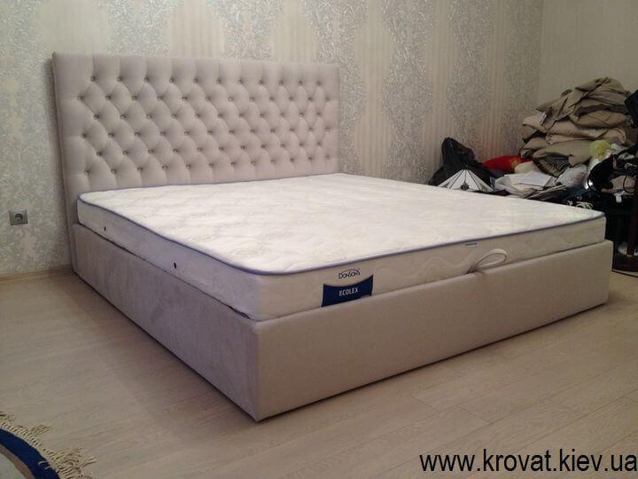 кровать Виченца с каретной стяжкой