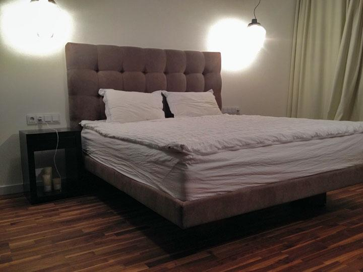 кровать в воздухе на заказ