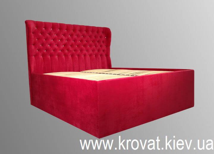 кровать с большим коробом на заказ