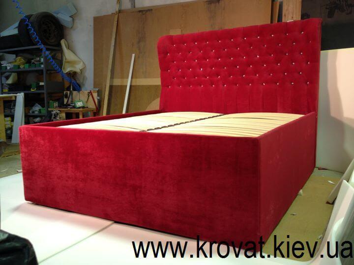 ліжко з камінням Сваровськи на замовлення