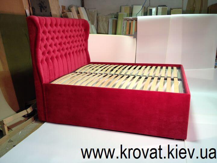 червоне ліжко на замовлення