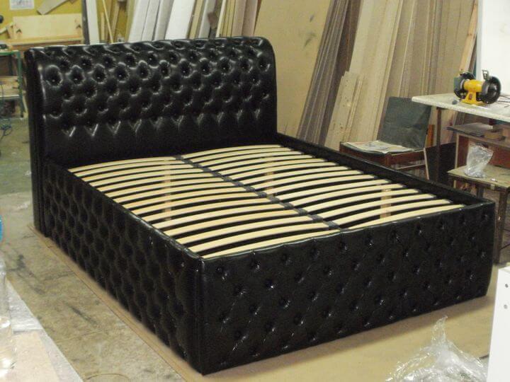 Кровать с высоким спальным местом