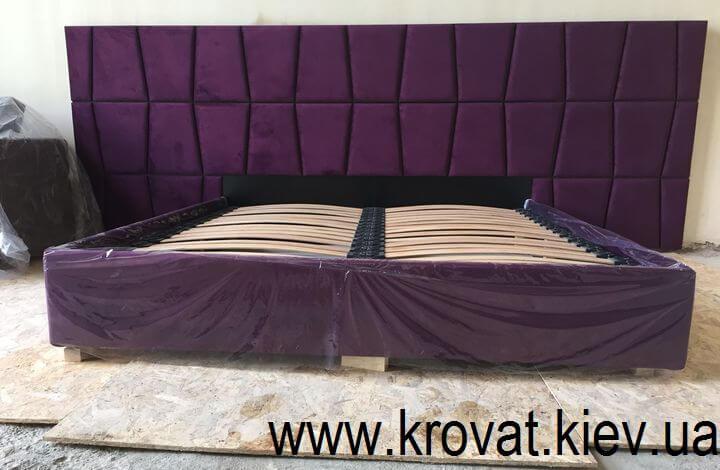 кровать Верона с широким изголовьем на заказ