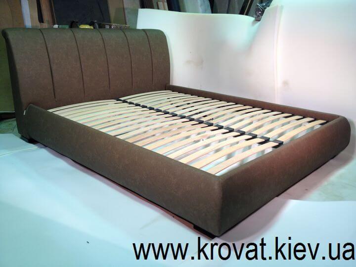 ліжко з ящиком з м'якою спинкою на замовлення