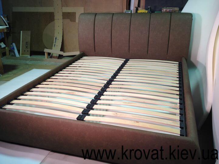 ортопедическая кровать с мягкой спинкой на заказ