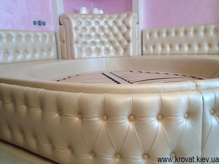 овальная кровать на заказ