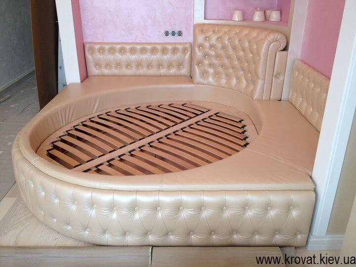 полукруглые кровати на заказ