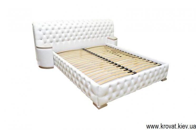 кровать с пуговицами для спальни на заказ