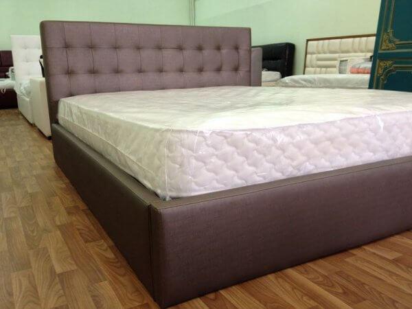 кровать с ящиками под матрасом на заказ