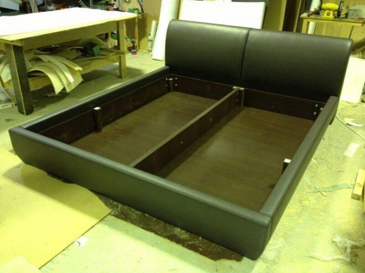 изготовление кроватей с невысокой спинкой