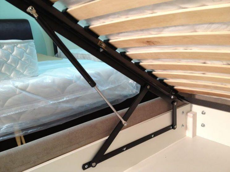 газові механізми для ліжка