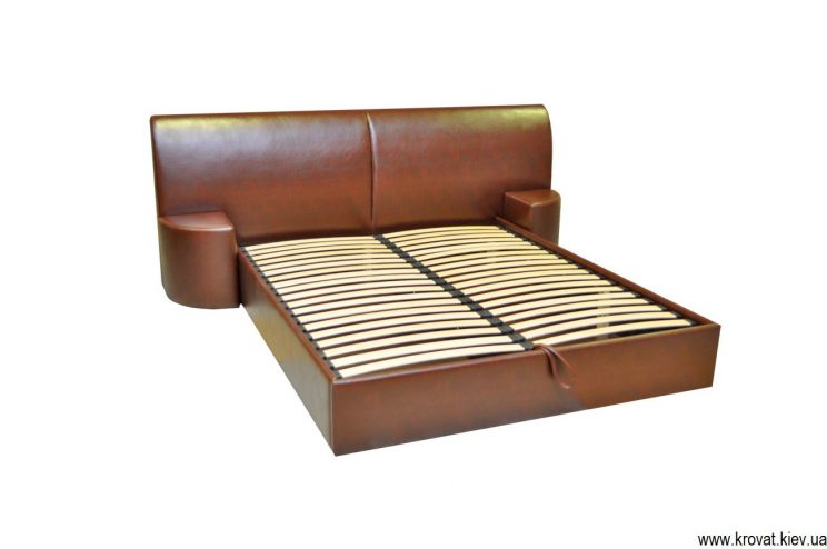 кровать с большим изголовьем на заказ