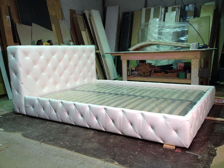 кровать на производстве