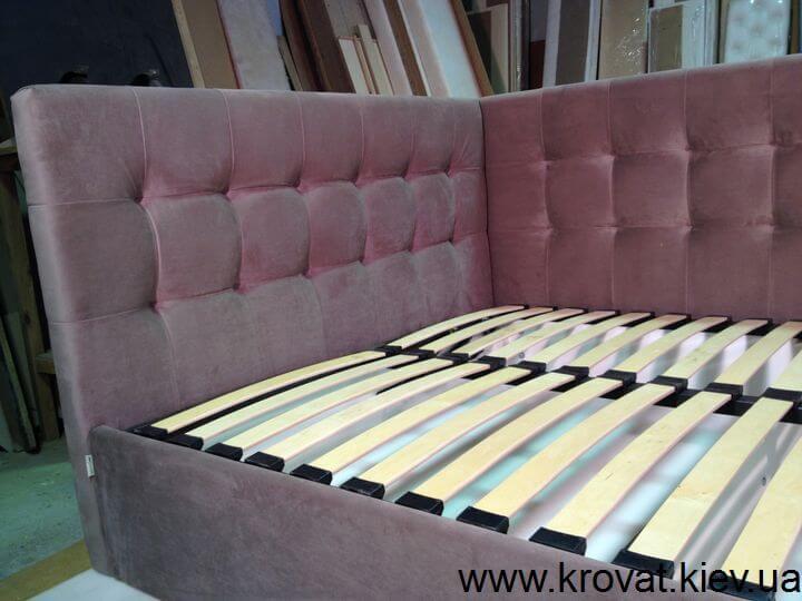 кровать с двумя изголовьями на заказ