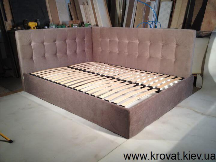 производство кроватей углом на заказ