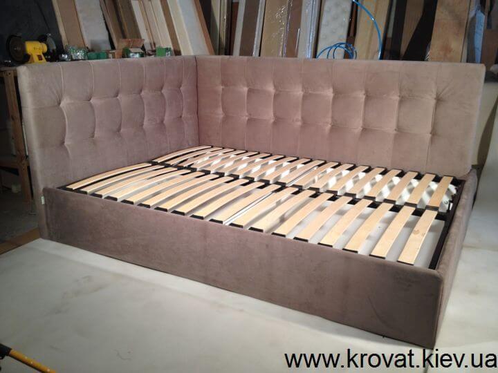 кровать углом на заказ