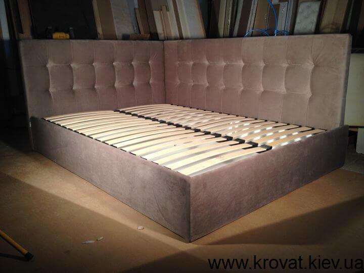 виробництво ліжок кутом на замовлення