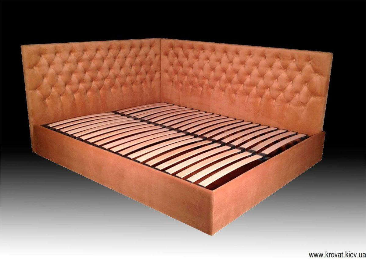 ліжко з боковою спинкою на замовлення