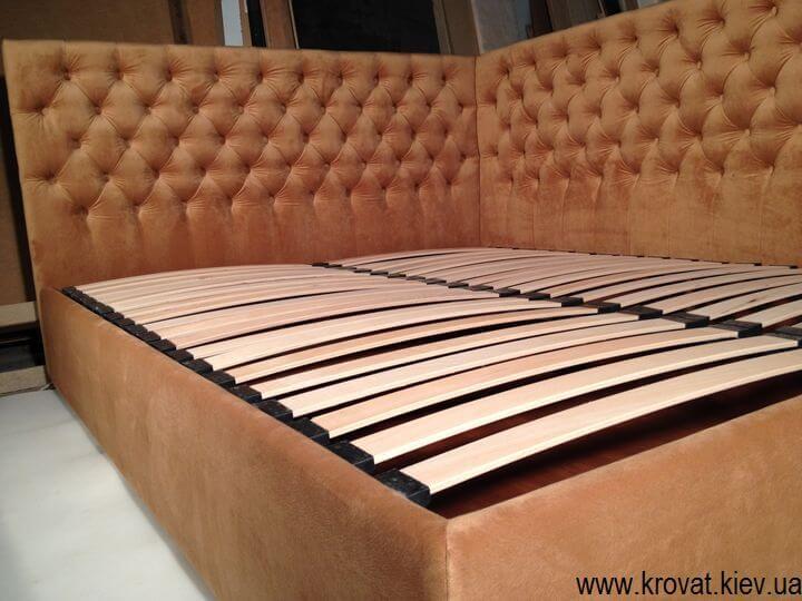 ліжко з боковим узголів'ям на замовлення