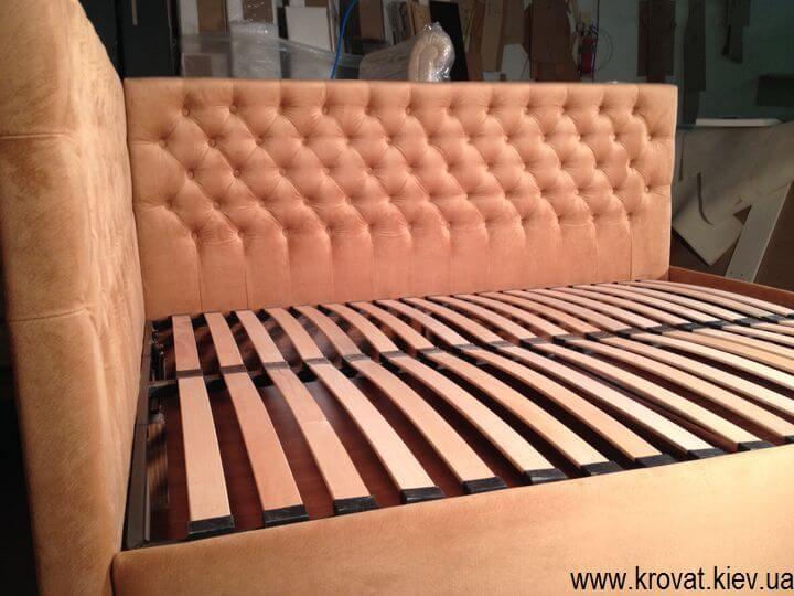 кровать с угловой спинкой от производителя на заказ