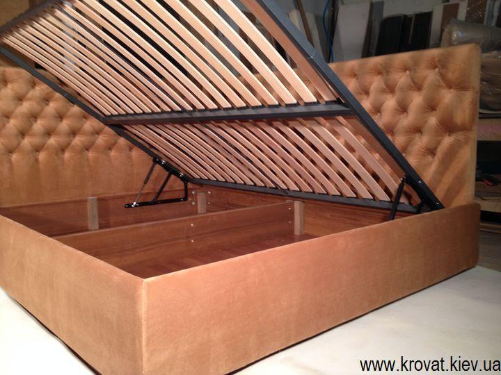 кровать с боковым подъемным механизмом на заказ