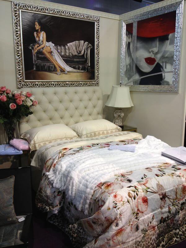 Кровать Элизабет в спальню на заказ