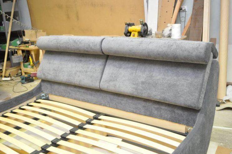 спинка ліжка з ухилом