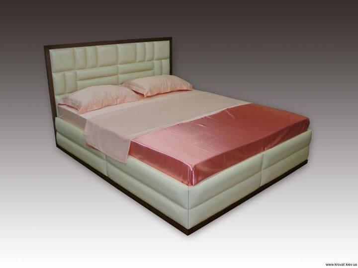 Ліжко Венера з дерев'яним обрамленням на замовлення