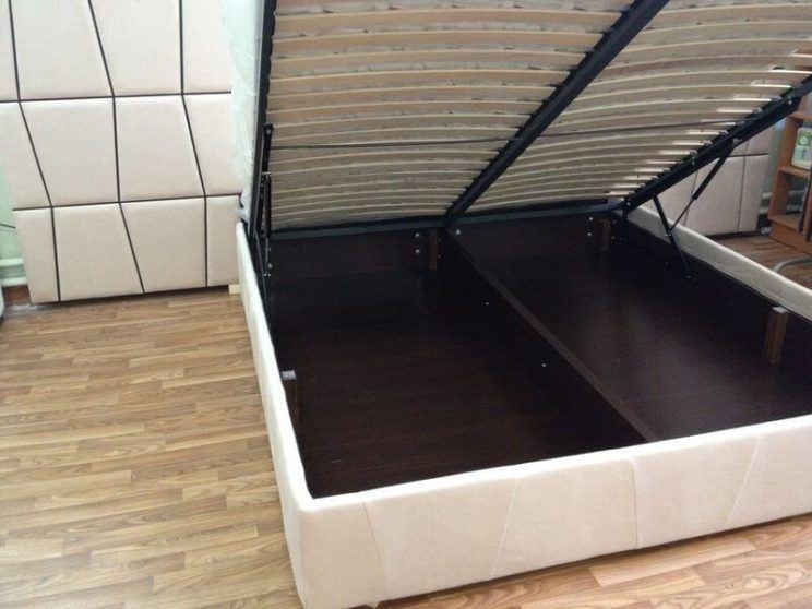 ліжко з ящиком для білизни Верона