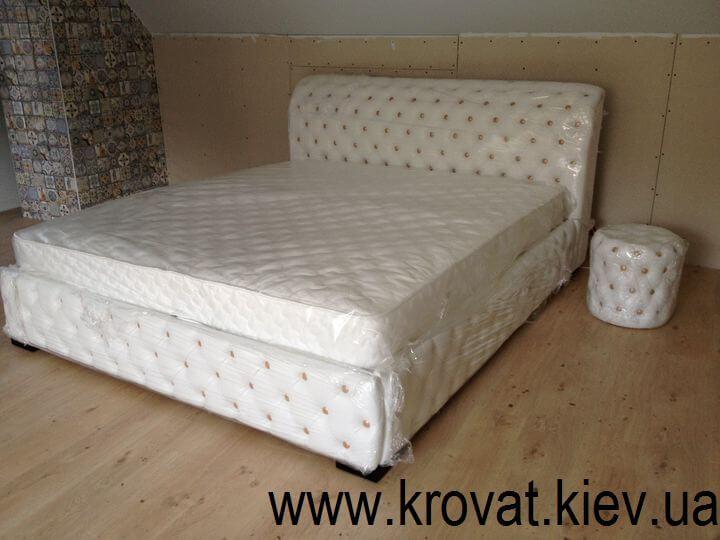 ліжко Честер з пуфом на замовлення