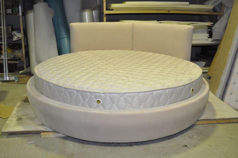 заказать круглую кровать