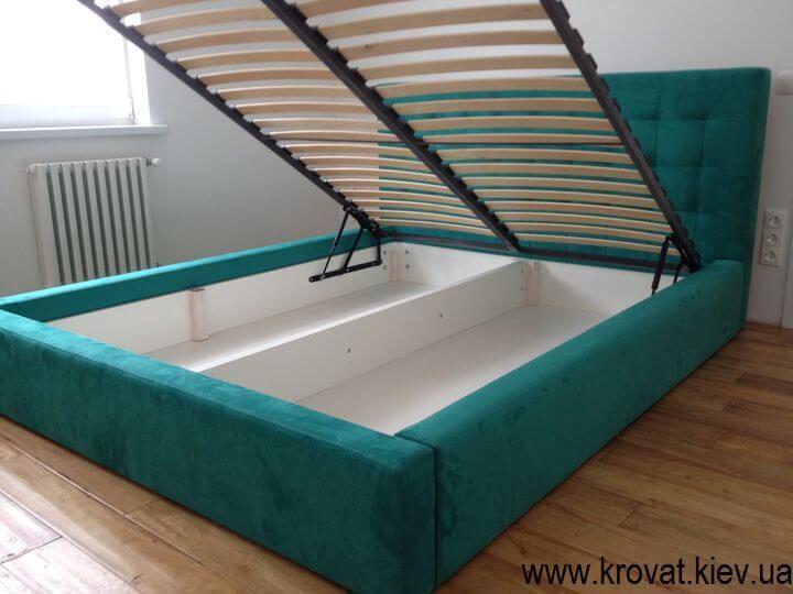 ліжко з газовим підйомним механізмом