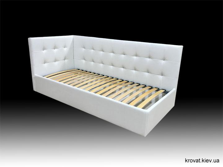 односпальная угловая кровать на заказ