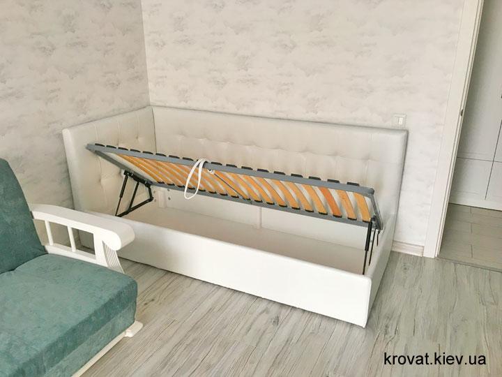 односпальная подростковая кровать на заказ