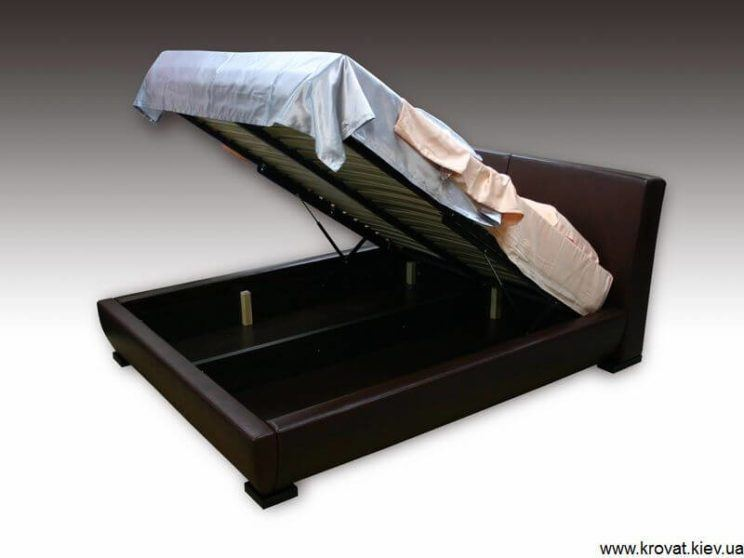кровать Ольга с подъемным механизмом на заказ