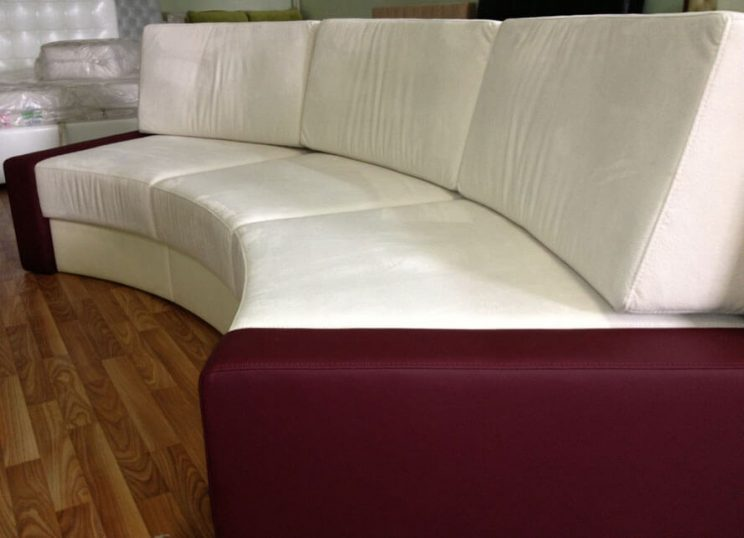 напівкруглий диван виробник