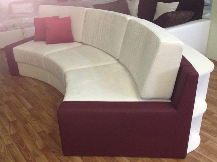 радіусний диван на замовлення Київ