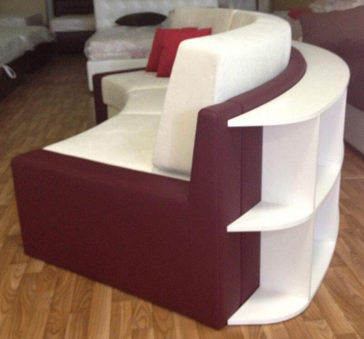 радиусный диван магазин