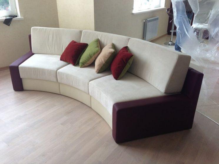 радіусный диван Київ
