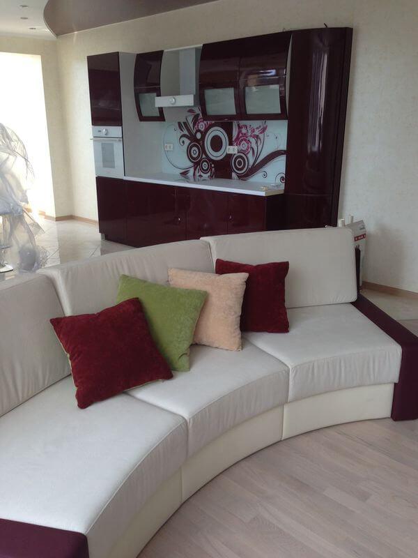 радиусный диван от производителя