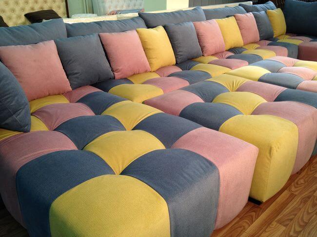 диван для просмотра кино