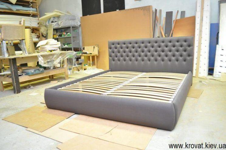 кровать Виченца с пуговицами