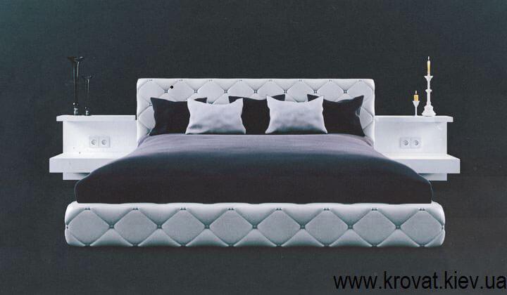 3d візуалізація ліжка в сучасному стилі
