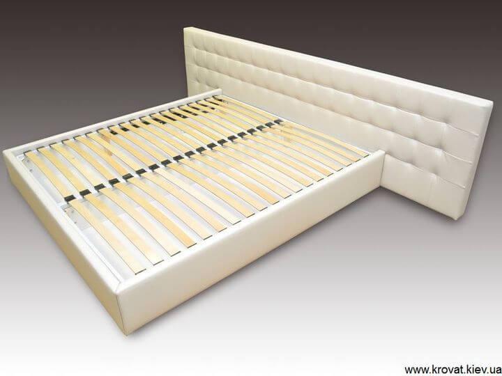 кровать Стелла с широкой спинкой на заказ