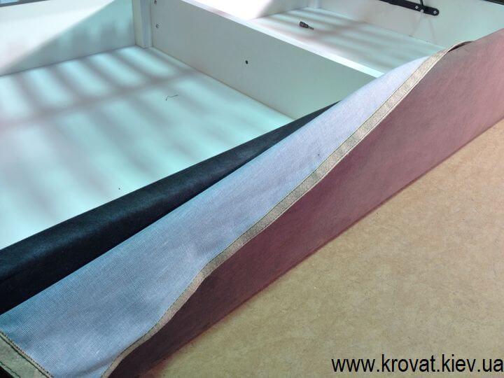 кровати со съемным чехлом