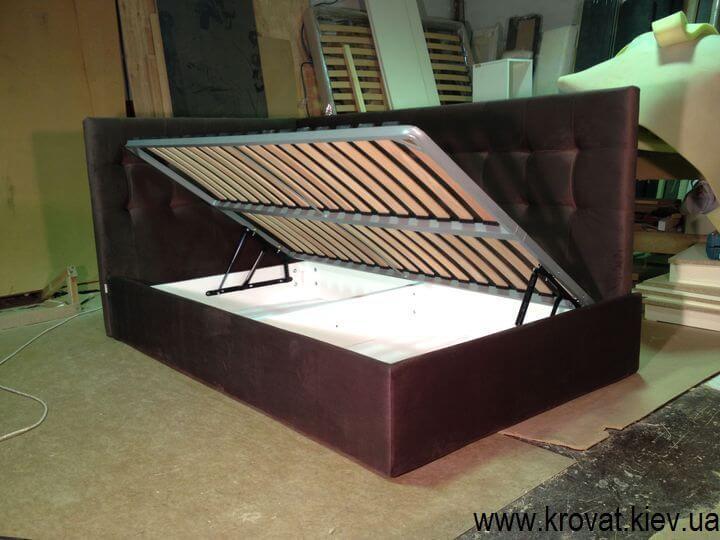 угловые кровати с подъемным механизмом