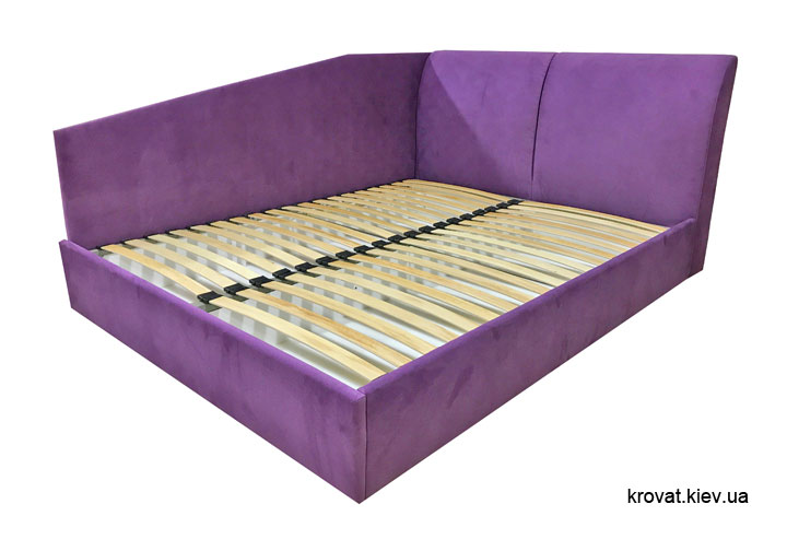 угловая двуспальная кровать 160х200 на заказ