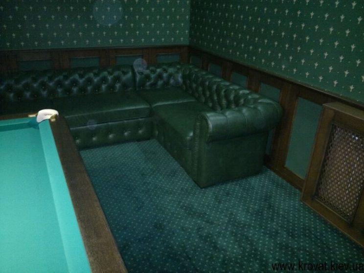 диван в шкірі на замовлення